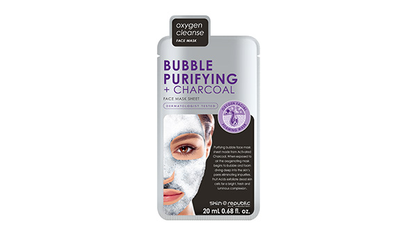 Bubble Purifying + Charcoal Face Mask Sheet 20ml