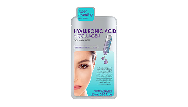 Hyaluronic Acid + Collagen Face Mask Sheet 25ml