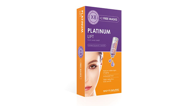 Platinum Lift Face Mask Sheet Monthly Treatment 8+2 250ml